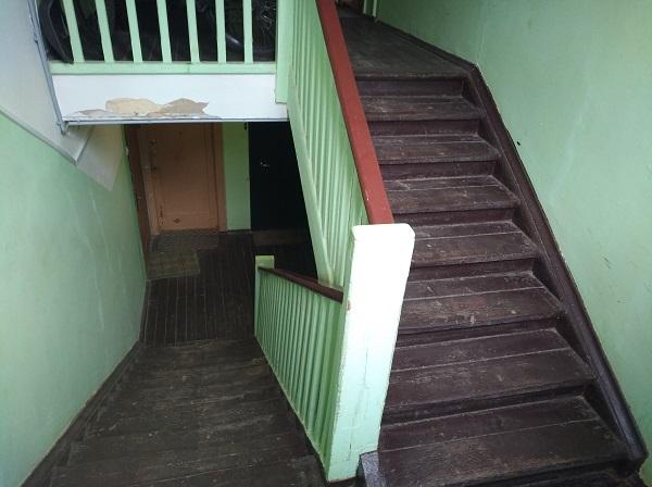 Квартира в полностью деревянном доме